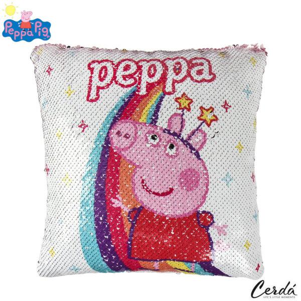 Peppa Pig Възглавница с пайети Пепа Пиг 4492