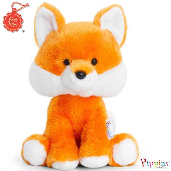 Keel Toys Pippins Плюшена лисица 14см 2490