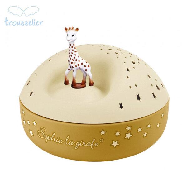 Trousselier Музикална лампа прожектор Жирафчето Софи 5161