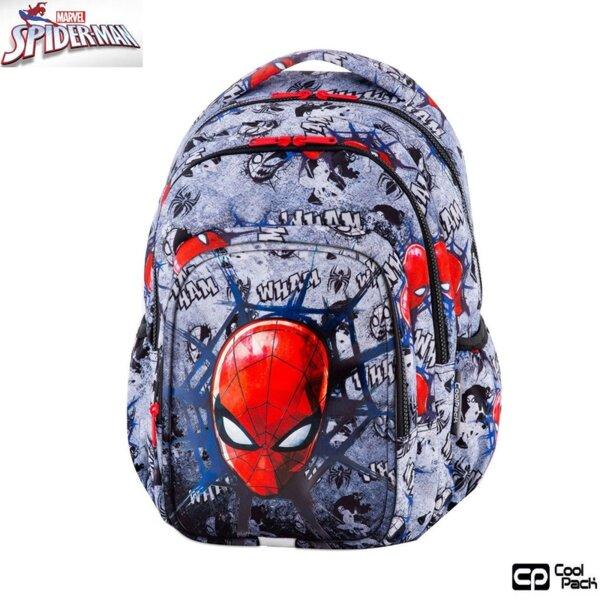 Cool Pack Spark L Ученическа раница Spiderman Black B46303