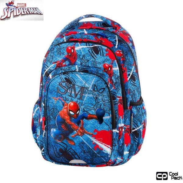 Cool Pack Spark L Ученическа раница Spiderman Denim B46304
