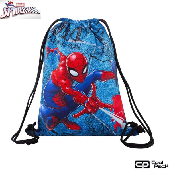 Cool Pack Beta Спортна торба Spiderman Denim B54304