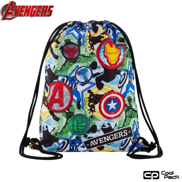 Cool Pack Beta Спортна торба Avengers Badges B54308