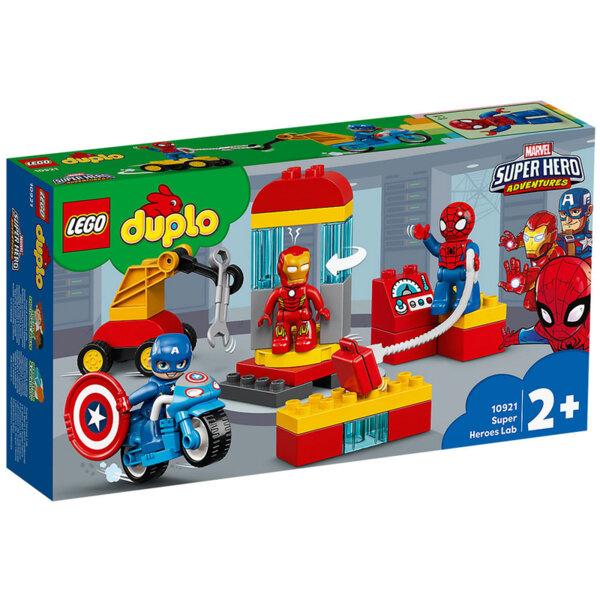 Lego 10921 Duplo Super Hero Лабораторията на супер героите