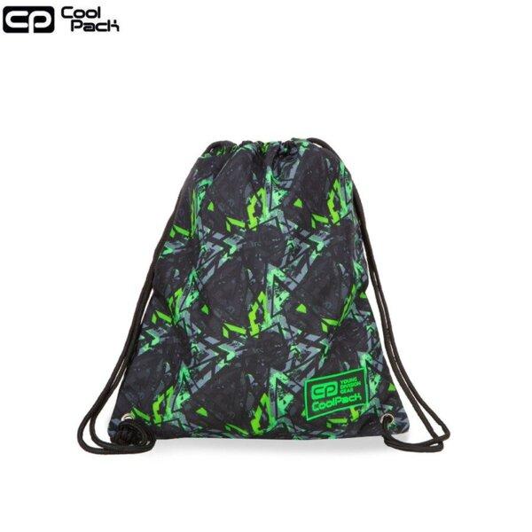 Cool Pack Solo Спортна торба Electric Green B72099