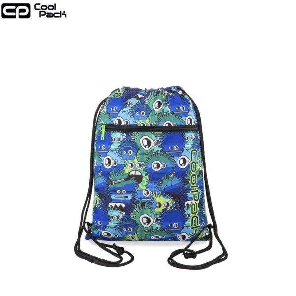 Cool Pack Vert Спортна торба Wiggly Eyes Blue B70034