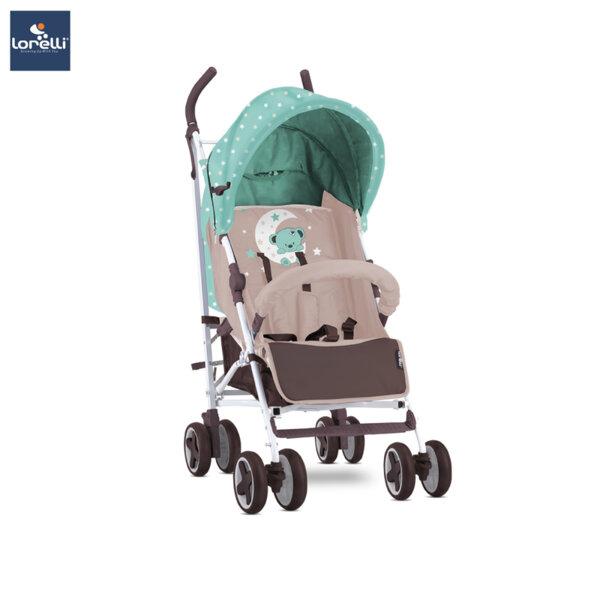 Lorelli Детска количка IDA GREEN&BEIGE MOON BEAR 10021301932