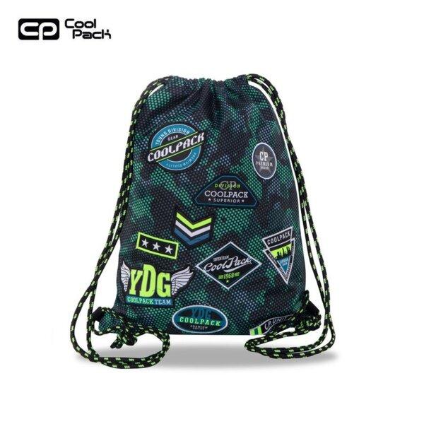 Cool Pack Sprint Спортна торба Badges B`Green B73151