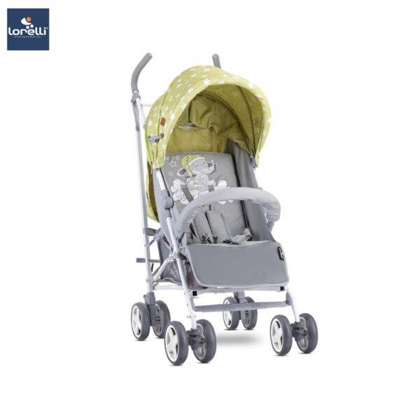 Lorelli Детска количка IDA GREEN&GREY ELEPHANT 10021301937