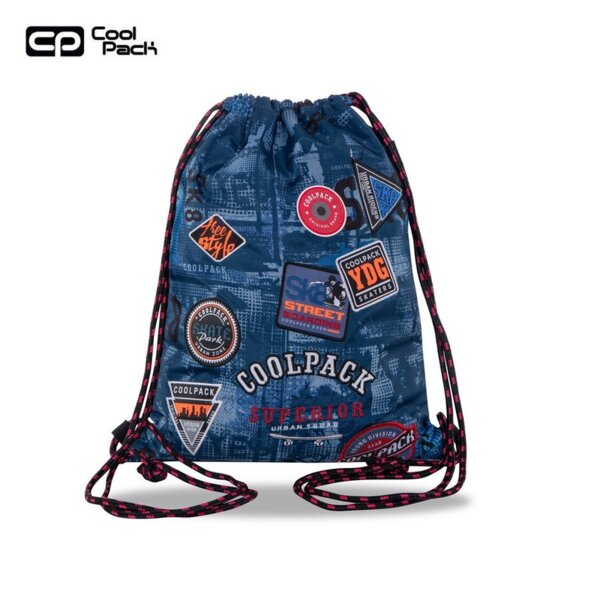 Cool Pack Sprint Спортна торба Badges B`Blue B73154