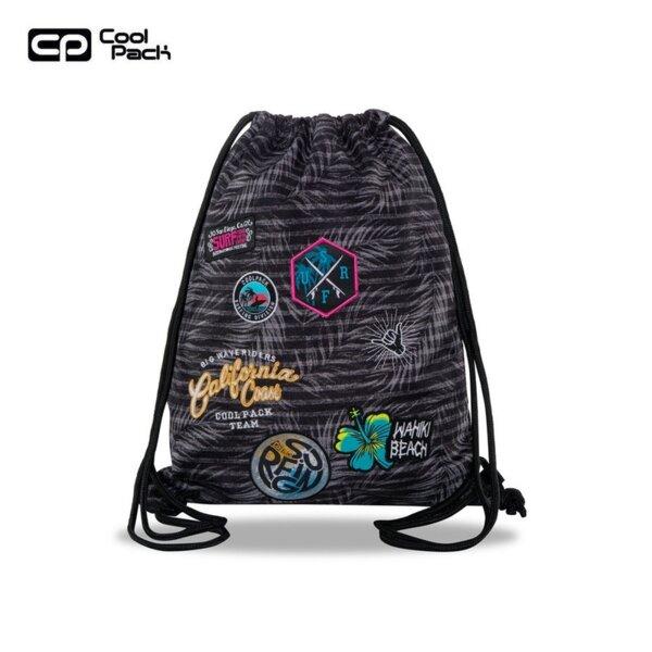 Cool Pack Sprint Спортна торба Badges G`Grey B73155