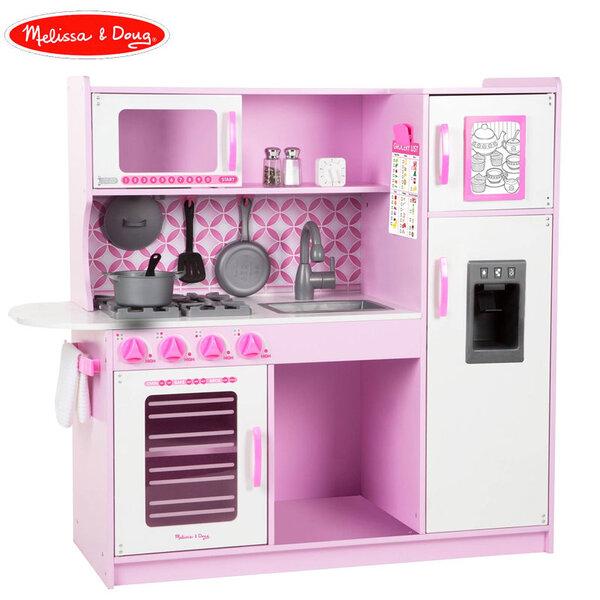 Melissa&Doug Дървена кухня розова Chefs kitchen cupcake 14002