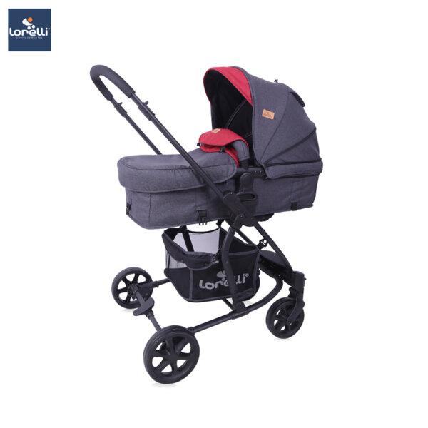 Lorelli Детска количка ASTER BLACK&RED 10021371958