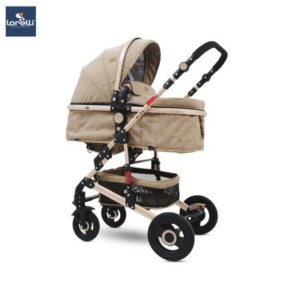 Lorelli Детска количка ALBA DARK BEIGE 10021421976