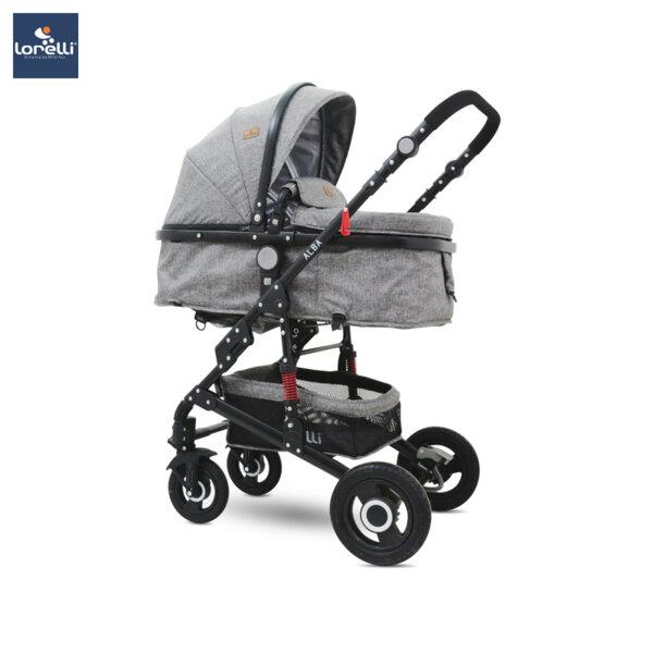Lorelli Детска количка ALBA DARK GREY 10021421977