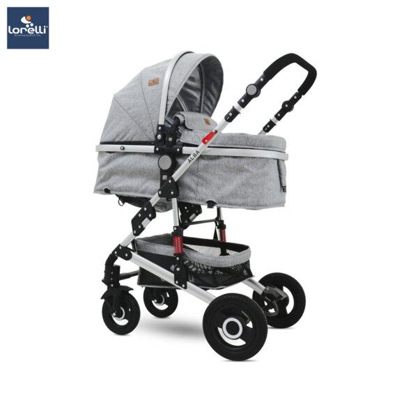 Lorelli Детска количка ALBA LIGHT GREY 10021421997