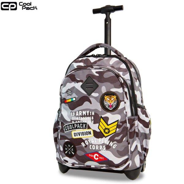 Cool Pack Junior Раница на колела Camo Black Badges A28111