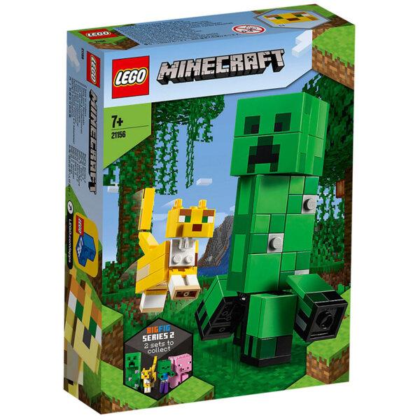 Lego 21156 Minecraft Голяма фигурка - Крийпър и Оцелот