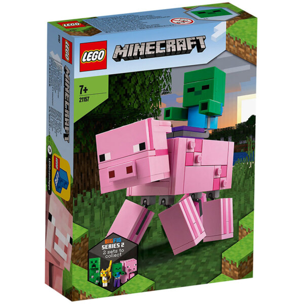 Lego 21157 Minecraft Голяма фигурка - Прасе и Зомби бебе