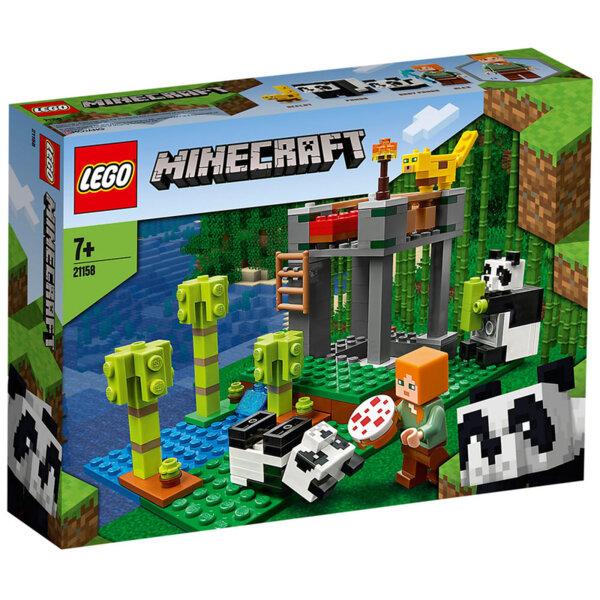 Lego 21158 Minecraft Детска градина за панди