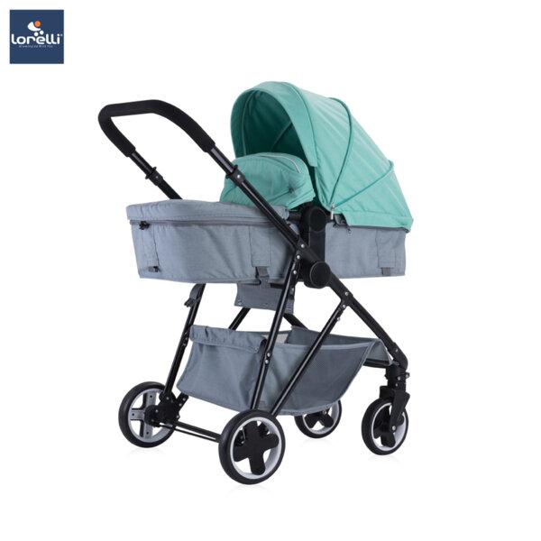 Lorelli Детска количка CORINA SET GREEN&GREY 10021431992