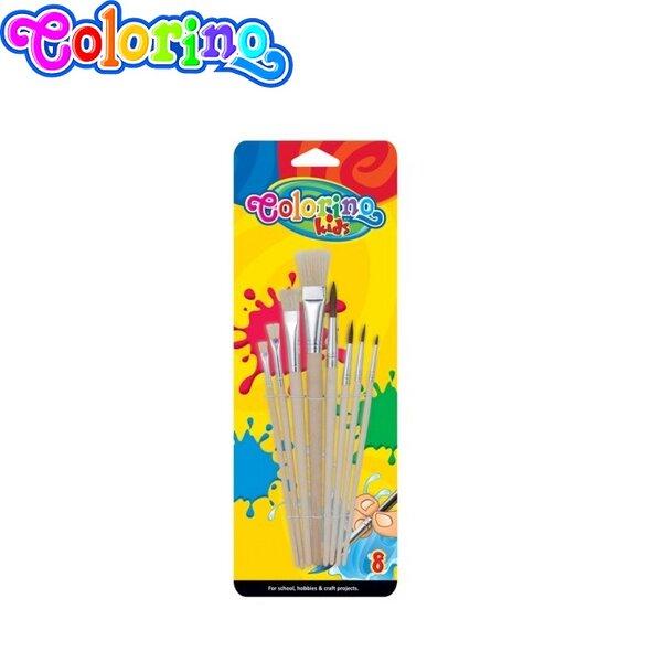 Colorino Kids Четки за рисуване комплект 8 броя 39000