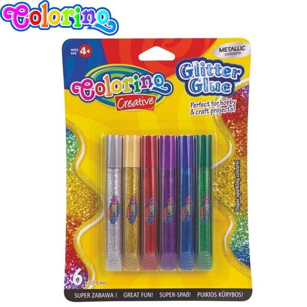 Colorino Kids Creative Брокатно лепило Металик 68826