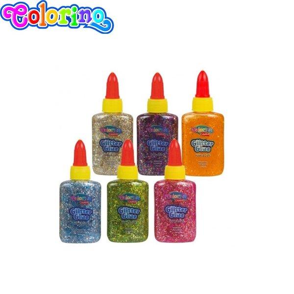 Colorino Kids Брокатно лепило Конфети 36 мл. 68765