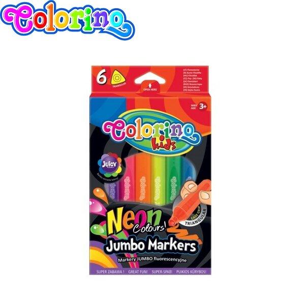 Colorino Kids Neon Jumbo Маркери за рисуване 38881