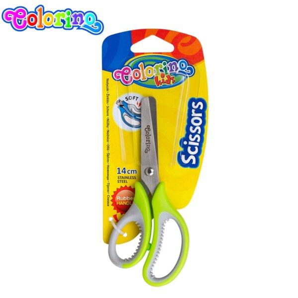 Colorino Ножица 14 см с гумена ръкохватка 37305