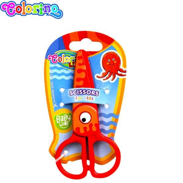 Colorino Ножица пластмасова Baby Line 37275