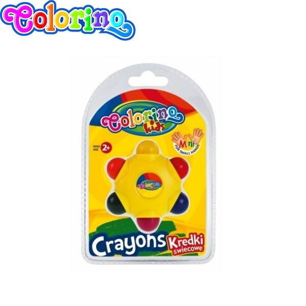Colorino Kids STAR Пастели за най-малките 6 цвята 33015