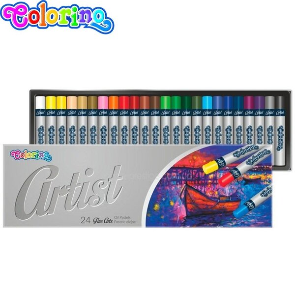 Colorino Artist маслени пастели 24 цвята 65719