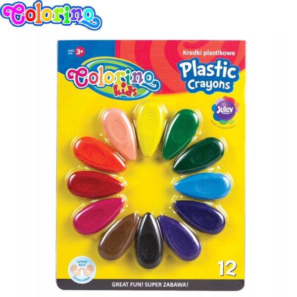 Colorino Kids Пласти пастели 12 цвята 67294