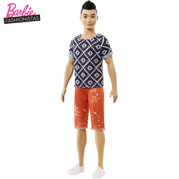 Barbie Кукла Кен Fashionistas FXL62