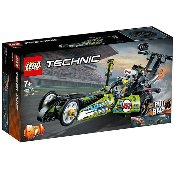 Lego 42103 Technic Драгстер