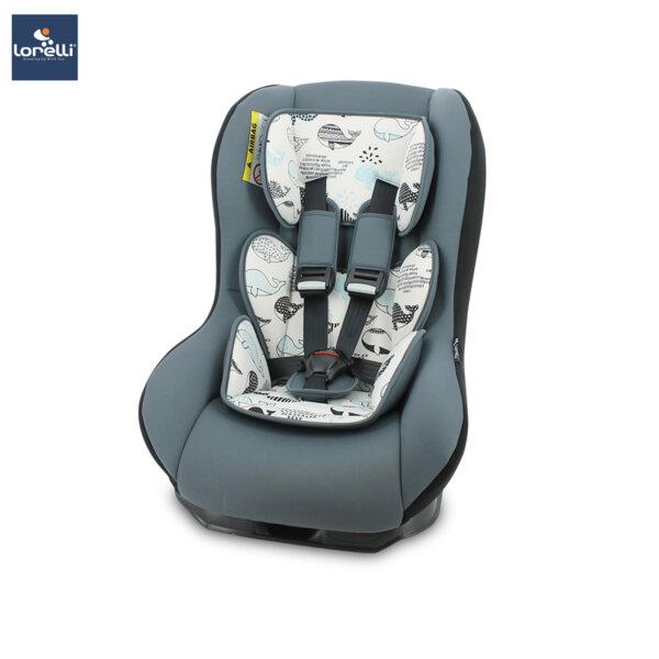 Lorelli- Столче за кола BETA PLUS GREY WHALES 10070781907
