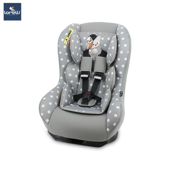 Lorelli- Столче за кола BETA PLUS GREY COOL CAT 10070781939