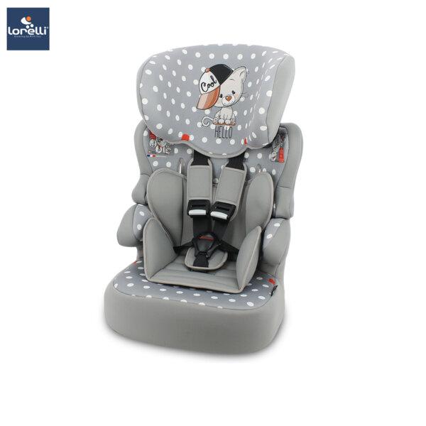 Lorelli - Столче за кола X-DRIVE PLUS GREY COOL CAT 10070791939