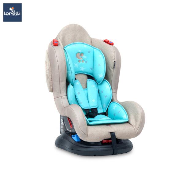 Lorelli - Столче за кола JUPITER BEIGE&GREEN STARS 10070941974