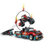 Lego 42106 Technic Камион и мотоциклет за каскади