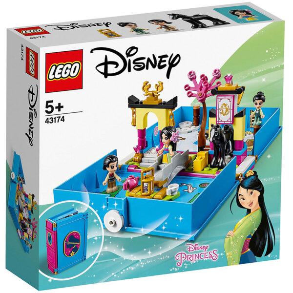 Lego 43174 Disney Princess Книжка с приказки Приключенията на Мулан