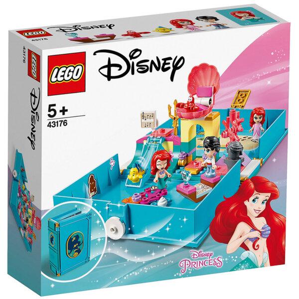 Lego 43176 Disney Princess Книжка с приказки Приключенията на Ариел