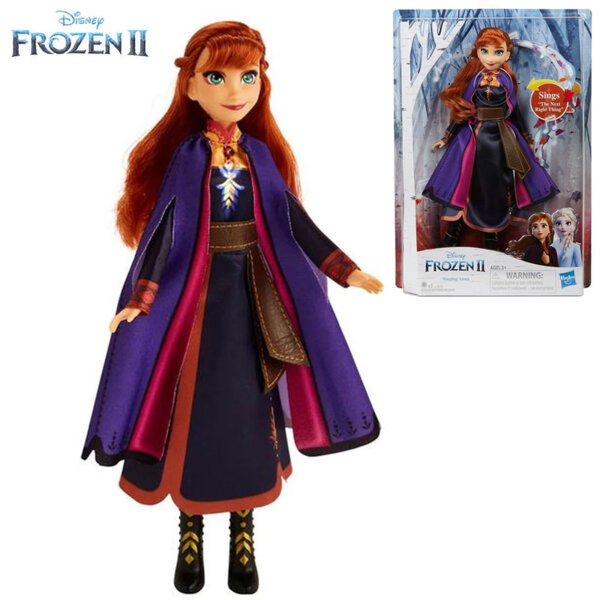Disney Frozen II Пееща кукла Анна E6853