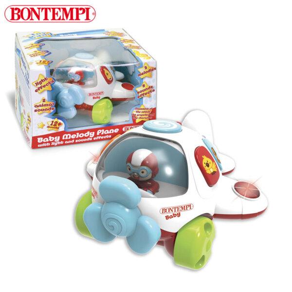 Bontempi Бебешки самолет с музкални исветлинни ефекти 702125