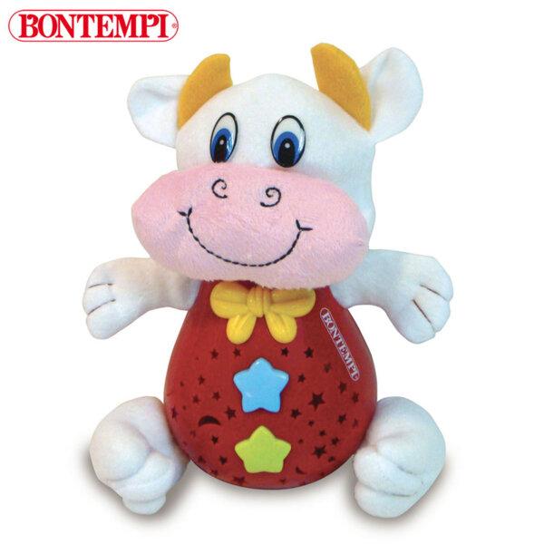 Bontempi Плюшена музикалнa играчка с прожектор Крава 702025