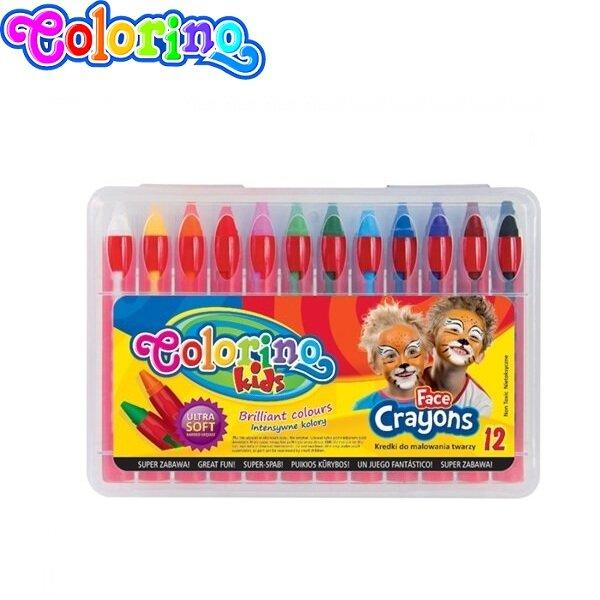 Colorino Kids Пастели за лице 12 цвята 32650