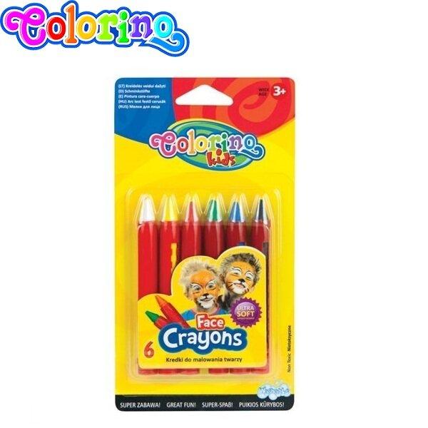 Colorino Kids Пастели за лице 6 цвята 32629