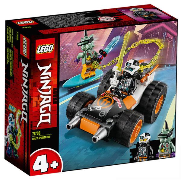 Lego 71706 Ninjago Скоростната кола на Cole