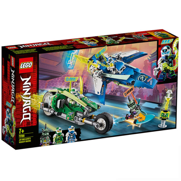 Lego 71709 Ninjago Скоростните състезатели на Лойд и Джей